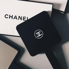 a9880f17841a CHANEL Black Velvet Makeup Bag with Gold Chain Cosmetic Pouch VIP ...