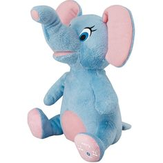 Ilive Animated Plush Animal Bluetooth Speaker (elephant)