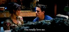 The Vow. Totally LOVED it! Super cute part of the movie.