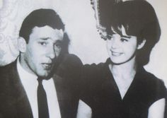 The real Reggie and Frances Kray... family snapshot from 1966