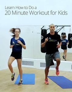 Want to have fun and get fit in 20 minutes? This lesson is great for kids who want a total body workout that will help them get in shape! Yoga For Kids, Exercise For Kids, Teenager Boys, Workouts For Teens, Crossfit Kids Workouts, Family Fitness, Fitness For Kids, Teen Fitness, Fitness Plan