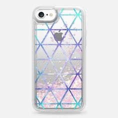 Inverted Triangle Print - Snap Case