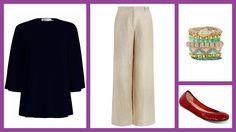 Silk Swing Top, Zimmermann + Mishief Herringbone Pant, Zimmermann + Autumn Bracelet, Deepa Gurnani + Ruby Red Patient, Tieks #мода #стиль #сочиняемнаряд #топ #брюки #украшения #браслет #обувь #балетки  #fashion #style #outfit #top #pants #trousers #zimmermannwear #jewellery #bracelet #deepagurnani #shoes #balletflats #tieks