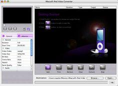 osCurve RegNow: iMacsoft iPod Video Converter for Mac http://oscurve-contactos.blogspot.com