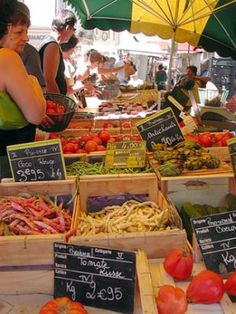 Shopping in French Markets: Where to find the best markets in France, and other tips | France Travel Guide