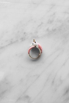 Unicorn Ring Pink from GOOD AFTER NINE by DaWanda.com