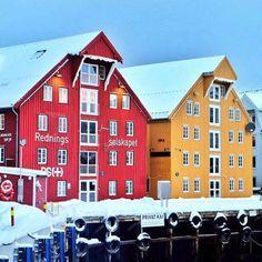 Port de Tromsø, Norvège