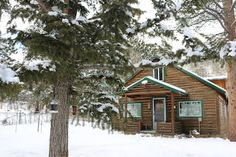 Check out this awesome listing on Airbnb: Cascading Creek Log Cabin - Cabins for Rent in Allenspark