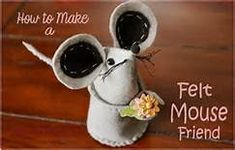 free patterns felt mice - Yahoo Image Search Results Opens to many free patterns  save!