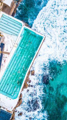 icebergs bondi beach - Bondi Beach Australia: Surfing, Swimming, Sunshine, Shopping Sunsets Original article and pictures take https. Bondi Beach Australia, Australia Travel, Sydney Australia, Western Australia, Manly Beach Australia, Australia Visa, Visit Australia, Victoria Australia, Great Barrier Reef