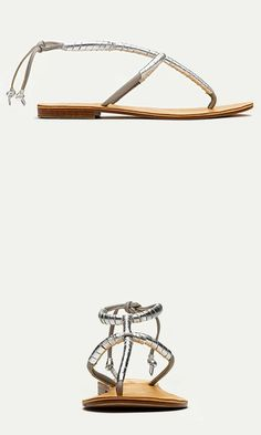 Expertly handmade using Italian leather, these timeless metallic sandals are a beach staple, but they're also sophisticated enough for city strolls.