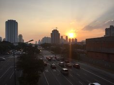 Pôr do Sol - Metrô Carrão - São Paulo