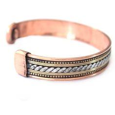 Bracelet Cuivre et Aimants (brincui014)