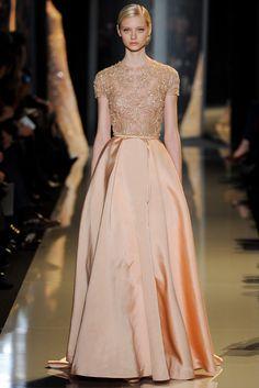 Elie Saab Spring 2013 Couture Fashion Show - Nastya Kusakina (Women)