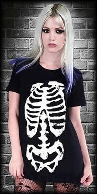 SKELETON TEE - #infectiousthreads #goth #gothic #horrorpunk #punk #alt…