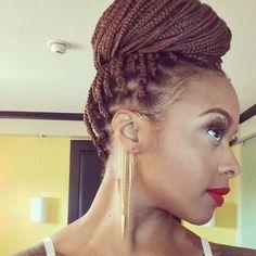 red braids black women - Google Search
