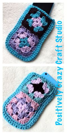 iPhone cozy pocket by Basia's Hat Factory