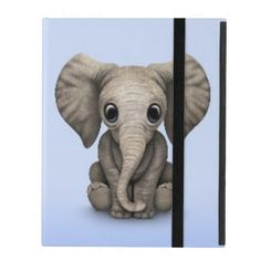 =>quality product          	Cute Baby Elephant Calf Sitting Down, Light Blue iPad Cover           	Cute Baby Elephant Calf Sitting Down, Light Blue iPad Cover We have the best promotion for you and if you are interested in the related item or need more information reviews from the x customer who...Cleck Hot Deals >>> http://www.zazzle.com/cute_baby_elephant_calf_sitting_down_light_blue_ipad_case-256647673034320834?rf=238627982471231924&zbar=1&tc=terrest
