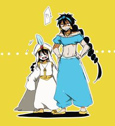 Aladdin... and Judal ? by Erumi-n.deviantart.com on @deviantART HAHHAH X´D