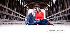 Rustic Engagement Portraits    {Mark + Kristin} Philadelphia, PA Engagement Photography » Andrea Warden