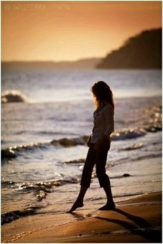 2/2/17 Charlene, it is so lovely to take a walk on the beach at sunset! , I hope you cast your cares away and walk to the sound of the tide, enjoy my friend! 💕 Mary