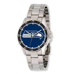 Gents #Seattle #Seahawks Watch with Blue Dial. Available at #PAVEJewelryandDesign #PAVEMV. $79.00