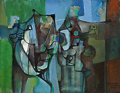 Roberto Burle Marx - Abstrato (1987)
