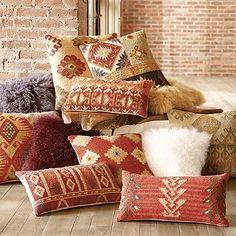 Kader Kilim Throw Pillow from Grandin Road