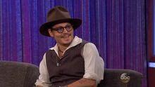 Johnny Depp in Jimmy Kimmel about Lone Ranger