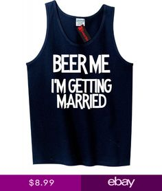 d7936d546c2b66 Beer Me Im Getting Married Funny Mens Tank Top Groom Bachelor Gift Tee Z3