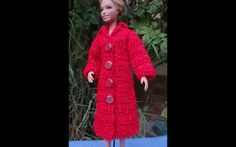 Пальто. Как связать  пальто для куклы. How to tie coat for doll. Wie zu ...
