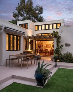 Transitional Home by Allen Construction