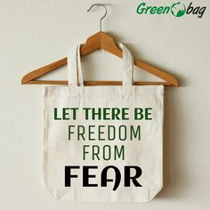 GreenoBag wishes everyone #human #rights #day. Let's try make this world one without #fear and encourage #freedom.