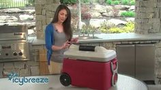 IcyBreeze personal portable air conditioner and cooler.