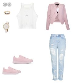 """Untitled #445"" by selise-miles on Polyvore featuring adidas Originals, BCBGMAXAZRIA, Topshop, Frederic Sage and Charlotte Russe"