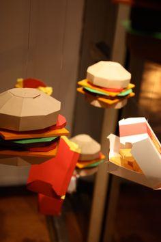 paper junk food.