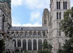 https://flic.kr/p/Q1eVrx | Rouen (Seine-Maritime) - Rue Saint-Romain - Cathédrale Notre-Dame | Rouen (Seine-Maritime) - Rue Saint-Romain - Cathédrale Notre-Dame. . fr.wikipedia.org/wiki/Cath%C3%A9drale_Notre-Dame_de_Rouen