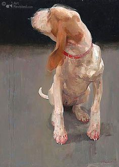 Artwork Jonge hond (Young Dog) by Pieter Pander