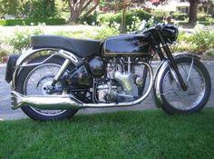 Clean and Beautiful: 1960 Velocette Venom