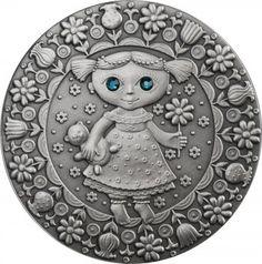 Srebrna Moneta - Panna, 20 rubli, Seria: Znaki zodiaku