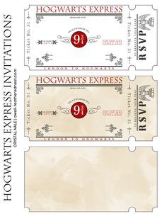 Printable harry potter invitation pdf pinterest harry potter un nid bien plumes parti harry potter le invitations stopboris Choice Image