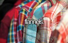 I love flannel in the fall, it's stylish and warm, but I refuse to pay $30 for a shirt so I prefer the thrift store!