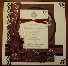 Beautiful way to display wedding documents  - Scrapbook.com