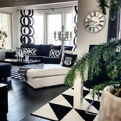 Condo Living, Living Room, Scandinavian Home Interiors, Interior Decorating, Interior Design, White Houses, Dream Decor, White Decor, House Colors