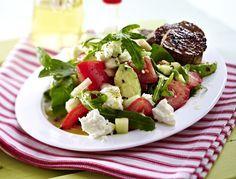 Unser beliebtes Rezept für Avocado-Salat & Schweinemedaillons und mehr als 55.000 weitere kostenlose Rezepte auf LECKER.de.
