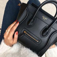 Womens Purses : Celine Nano Luggage Bag handbags wallets Source by sweetmarylou Bags handbags Cheap Purses, Cheap Handbags, Purses And Handbags, Cheap Bags, Celine Handbags, Handbags Online, Chanel Handbags, Tote Handbags, Small Purses