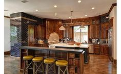 Same kitchen different angle: Art Deco eclectic