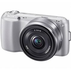 Sony Alpha NEX-C3 Digital Camera with 16mm Lens (Silver) Import Model No Warranty by Sony. $999.39. The Sony Alpha NEX-C3 Digital Camera gives you the versatility of a larger SLR digital camera but in a compact, lightweight form factor. Perfect for traveling, parties, or any time you don't want to carry a bulky camera around your neck, the NEX-C3 is a styling piece with enticing lines and an understated, yet modern design. But it's not just appealing in the looks...