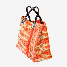 Oshana Cotton Sari Tote by Filling Spaces