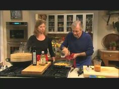 Savory blue cheese cheesecakes by Jacgues Pepin